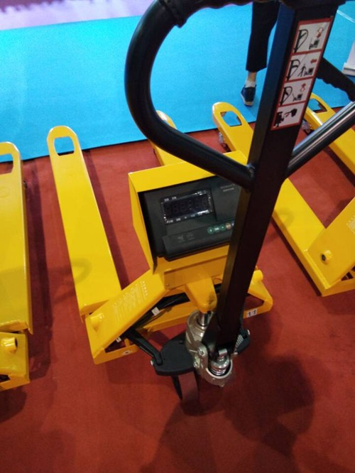 2500kg hand pallet trucks with scale