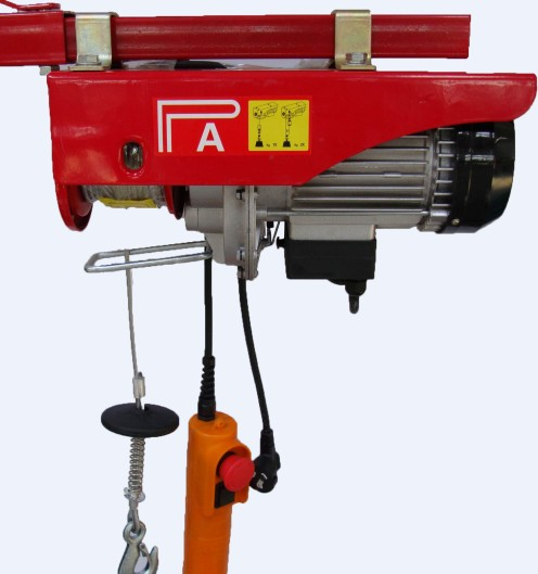 PA mini wire rope hoist 001