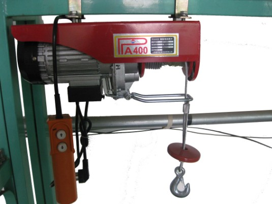PA mini wire rope hoist 03